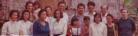 Ross Rennie and Cambodian church leaders