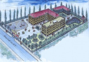 Artist's impression of Timothy College