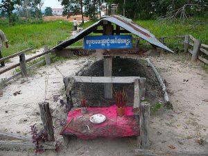 Grave of Pol Pot