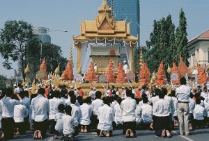 Funeral of King Sihanouk